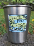 Plastic Free Hawaii Kanteen Kanteen 10oz Stainless Steel Cup